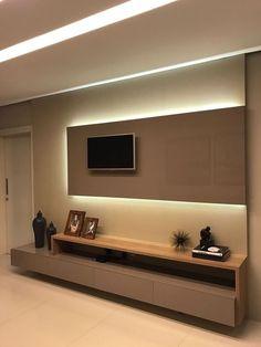 "Video Search Result for ""tv sala breadel"" Tv Wall Design, Tv Cabinet Design, Tv Wanddekor, Modern Tv Wall Units, Wall Units For Tv, Modern Tv Room, Tv Unit Furniture, Living Room Tv Unit Designs, Sala Grande"