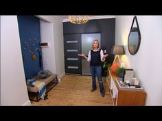 DIY: Tara's inexpensive entryway makeover - YouTube