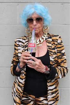 Стильная старость: стареть можно красиво бабуськи, бабушки, мода, прикол, фото