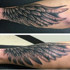 Tattoos News Pics Videos And Info Forearm Wing Tattoo, Half Sleeve Tattoos Forearm, Tribal Forearm Tattoos, Neck Tatto, Simple Forearm Tattoos, Forarm Tattoos, Forearm Tattoo Design, Baby Tattoos, Feather Tattoos