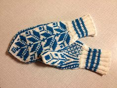 Ravelry: Norwegian Mittens free pattern by Anna Mazzarella Knitting Charts, Knitting Stitches, Knitting Patterns Free, Free Knitting, Crochet Patterns, Free Pattern, Fingerless Mittens, Knit Mittens, Crochet Gloves