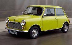 Mijn eerste auto, een Mini 850, gekocht voor 300 gulden = ca 135.- euro