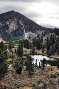 """Bunsen Peak"" by Cynthia Bruner, Yellowstone National Park, Wyoming, USA via FineArtAmerica.com"
