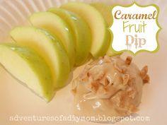 Caramel Fruit Dip  Adventures of a DIY Mom