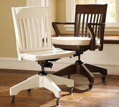 Swivel Desk Chairs U0026 Cushions | Pottery Barn