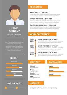 19 best graphic designs images on pinterest cv template design