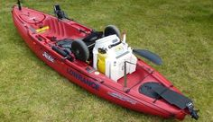 """Rigging a Hobie """"Outback"""" kayak for fishing. Focuses mainly on using a Vittles Vault for a livewell and/or dry storage item."""
