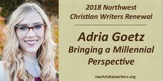 Get to know Adria Goetz. She'll be representing Martin Literary at the Northwest Christian Writers Renewal conference.