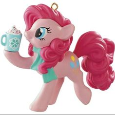 Carlton Cards Heirloom My Little Pony Pinkie Pie Christmas Ornament: Christmas Decor : Walmart.com