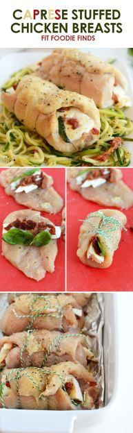 Caprese Stuffed Chic