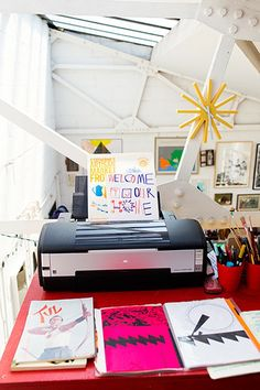 Holly Wales and Stephen Smith – Artists and Illustrators at Home in London