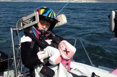 Natasha Lambert: Disabled teenager sailing English Channel controlling yacht with her TONGUE Scottish News, English Channel, Mobility Aids, Cerebral Palsy, 16 Year Old, Disability, Real Life, Inspirational, Uk News