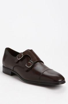 Salvatore Ferragamo 'Addo' Double Monk Strap Shoe available at Nordstrom