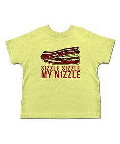 This Banana 'Sizzle Sizzle' Tee - Toddler & Kids by Urs Truly is perfect! #zulilyfinds