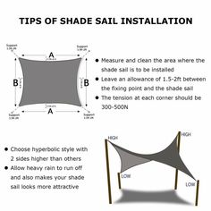 Shade&Beyond Rectangle Sun Shade Sail Sand Color for Patio Lawn Deck Garden Pergola Pool Shade, Backyard Shade, Pergola Shade, Triangle Shade Sail, Sun Sail Shade, Deck Sun Shade, Sail Shade Diy, Sails For Shade, Deck With Pergola