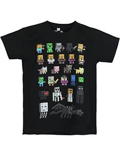 Character DE - Camiseta de manga corta - para niño Negro negro #camiseta #starwars #marvel #gift