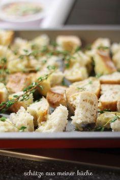 Toskanischer Brotsalat mit Riesen-Crôutons - Schätze aus meiner KücheSchätze aus meiner Küche