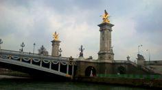 Puente de Alexander III, Paris.