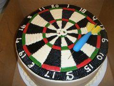 Bullseye Dart Cake