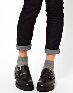 Image 4 of Vagabond Kenova Buckle Flat Shoes