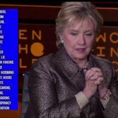 """HRC: At the Women In The World conference Hillary Clinton gave her 1st extended interview following her 2nd failed presidential election defeat & spent the 15 minutes blaming Russia for """"meddling"""" in the election & when asked why she lost the female vote... misogyny!"""