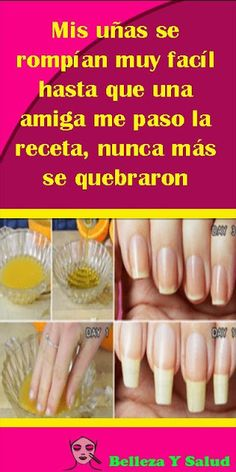 Home Remedies for Damaged and Brittle Nails 1 Gorgeous Nails, Pretty Nails, Beauty Care, Diy Beauty, Grow Long Nails, Hot Sauce Recipes, Brittle Nails, Nail Growth, Fancy Hairstyles