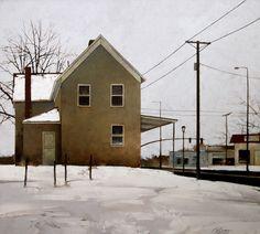 Yesterdays Snow Fall by Joseph Alleman