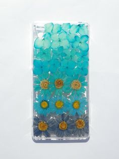 Anny's workshop手作押花手機保護殼,Sony Xperia Z3, 漸層藍 (現貨) Xperia Z3, Sony Xperia, Real Flowers, Ipad, Phone Cases, Electronics, Sleeves, Consumer Electronics