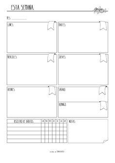 Online Bullet Journal, Bullet Journal School, Bullet Journal Inspiration, Agenda Planner, Planner Pages, Weekly Planner, Bujo, Student Planner Printable, Planner Organization