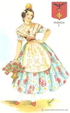 Cultural, Disney Characters, Fictional Characters, Costumes, Disney Princess, Rag Dolls, Ghibli, Valencia, Traditional