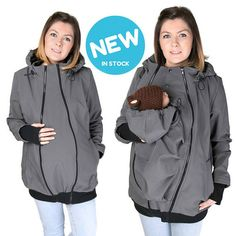 NEW Softshell Babywearing jacket maternity coat carrier