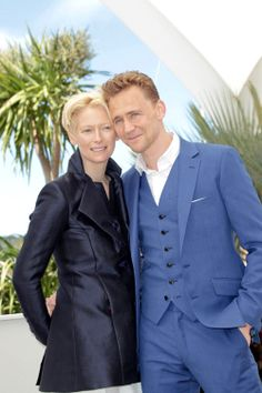 Hiddleston and Swinton at Cannes | Tom & Lorenzo Fabulous & Opinionated