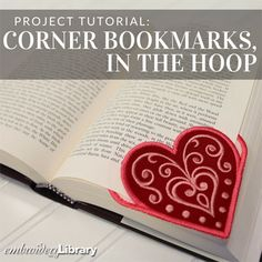 Corner Bookmarks, In-the-Hoop   (PR1608) from www.Emblibrary.com