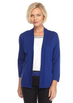 Alfred Dunner  Cardigan And Top 2Fer
