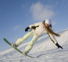 Wild and Free snowboarding