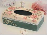Еще несколько Салфетниц в мою коллекцию Tissue Boxes, Tissue Holders, Decoupage, Facial Tissue, Decorative Boxes, Home Decor, Box, Wood, Craft