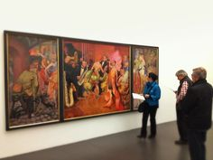 Otto Dix Ausstellung @ Kunstmuseum Stuttgart. Be sure to go there if you're around Stugitown...
