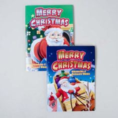 christmas coloring and activity book Case of 120