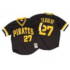 Kent Tekulve 1982 Authentic Mesh BP Jersey Pittsburgh Pirates | Mitchell & Ness