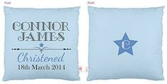Personalised Christening Cushion - Bluehttp://www.colourandspice.net.au/#!product/prd3/2224297231/personalised-christening-cushion---blue