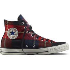 3fbcdea69f8a Converse - Chuck Taylor All Star Plaid - Chilipaste - Hi Top