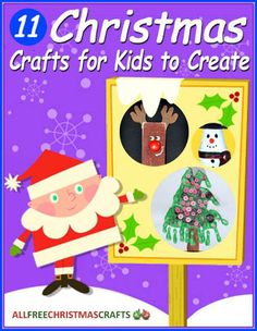 """11 Christmas Crafts for Kids to Create"" eBook 