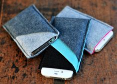 Felt Phone Case | 30 Quick And Cozy Projects To Make This Fall