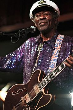 Chuck Berry B. King's Friday, June 25 There is a (probably apocryphal) story about Chuck Berry at a concert that, like most things from. Rock N Roll Music, Rock And Roll, Charles Bradley, Otis Redding, Bb King, Simon Garfunkel, Bon Iver, Chuck Berry, Billie Holiday