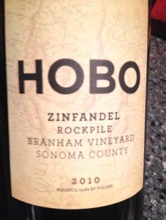 Hobo Zinfandel Wine, Sonoma County