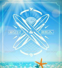grunge vintage emblem