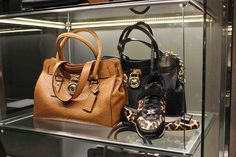 Shop Window at our Store Brixen Donna - Michael Kors bags & Michael Kors shoes... available at maximilian.it