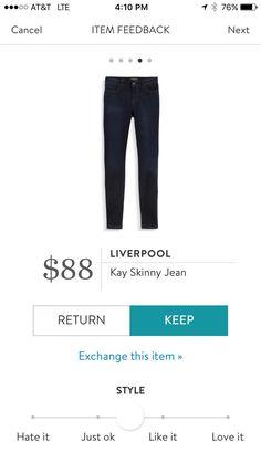Liverpool Kay Skinny Jean