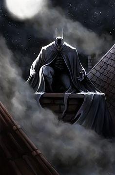The Moon Over Old Gotham by carstenbiernat on DeviantArt