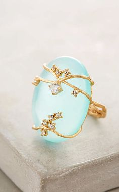Ivied Looking Glass Ring #anthrofave